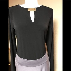 Gently Worn Michael Kors Top/Stretch Fabric.